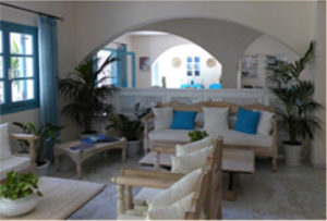 amphora_Seminar_Santorin_Hotel_Andreas_Hotelhalle