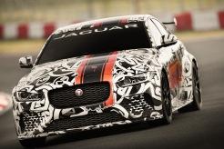 Jaguar XE SV Project 8 prototype testing Nürburgring