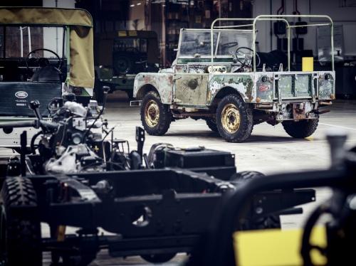 Land Rover L07 Ausstellungsfahrzeug