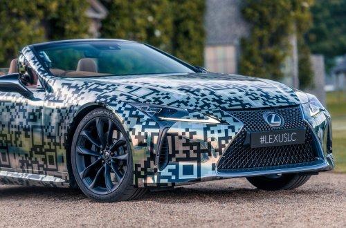 Lexus LC Cabriolet Prototyp
