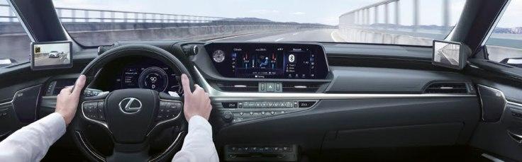 Lexus ES 300h digitale Aussenspiegel