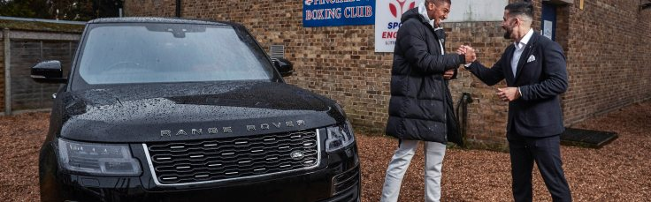 Range Rover SVAutobiography Anthony Joshua