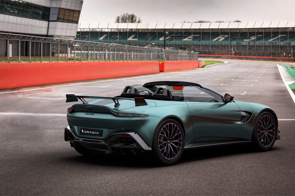Der Aston Martin Vantage F1@Edition Cabrio