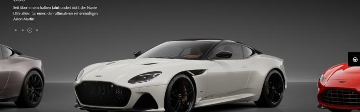 Aston Martin Online Konfigurator